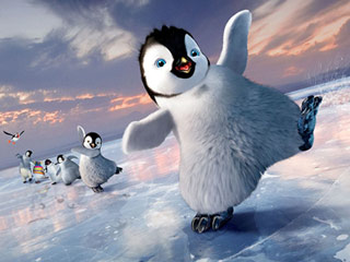 TAP 'HAPPY' The dance of the penguins is back in Happy Feet Two