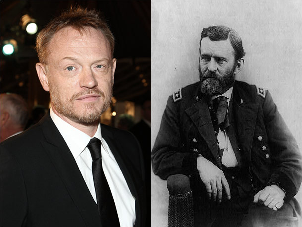 Jared Harris (Mad Men) as Ulysses S. Grant of Illinois, victorious commanding general of the Union Army