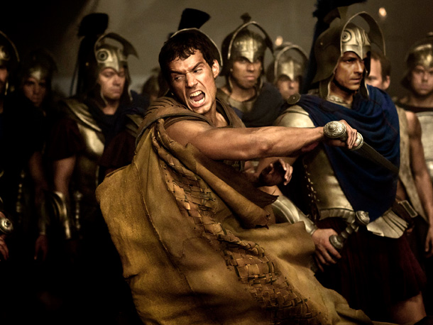 MACHO MYTHOLOGY Henry Cavill in Immortals