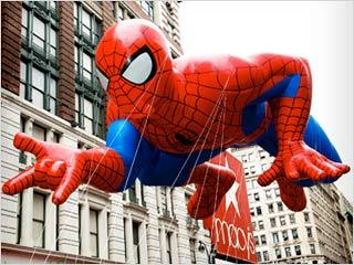 Macy Spider Man