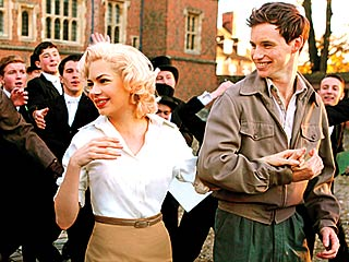 PLATINUM BLONDE AMBITION Michelle Williams channels Monroe in My Week with Marilyn with Eddie Redmayne