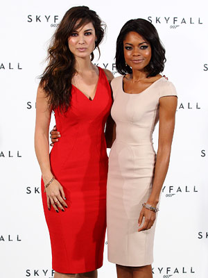 Only time will tell how Bérénice Marlohe and Naomie Harris will fare as a ''glamorous, enigmatic character called Severine'' and a ''field agent called Eve,''…