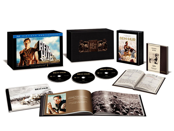 Ben-Hur | Charlton Heston's biblical epic is a throwback to a lost era of bigger-was-better filmmaking. Speaking of bigger being better, not only does this set include…