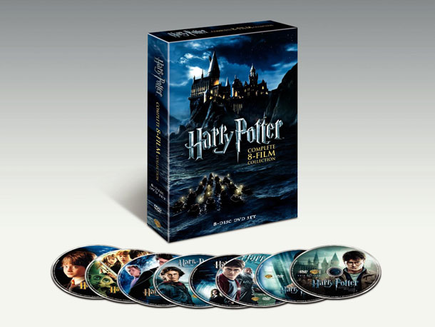 Harry Potter | Fans going through Potter withdrawal will take solace in this set, which gathers the full saga of Daniel Radcliffe as the boy wizard for the…