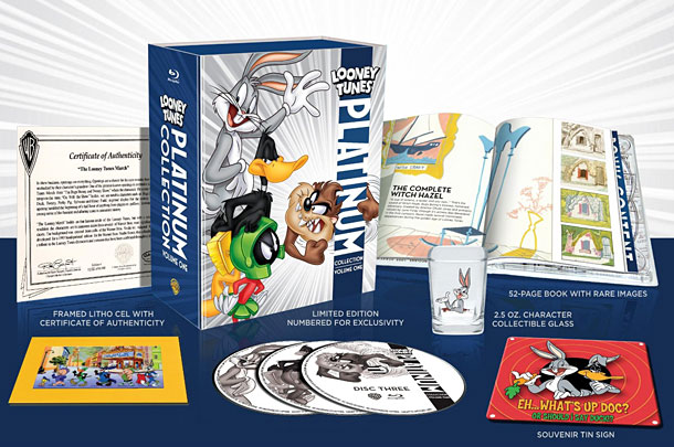 Looney Tunes | Bugs Bunny, Daffy Duck, Porky Pig, and (our personal fave) Foghorn Leghorn saddle up for this box-set bonanza of 50 classic cartoon shorts and featurettes…