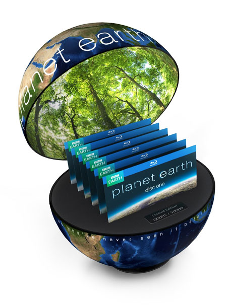 Planet Earth | This astonishing, eye-opening 11-part BBC nature series narrated by David Attenborough is a must see. And this gift set, encased in a globe-shaped package, is…