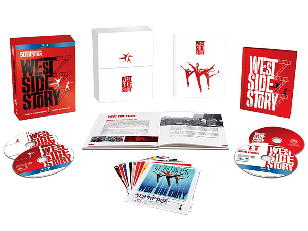 West Side Story | The timeless love story looks better and brighter than ever on this sparkling, four-disc Blu-ray box set, which includes eye-opening (and toe-tapping) featurettes about the…