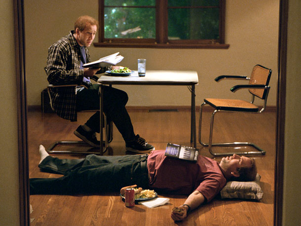 Nicolas Cage, Adaptation | Cage is devilishly subtle in a fat suit as competitive brothers — the only way to carry off Charlie Kaufman's quadruply ingenious story structure replicating…