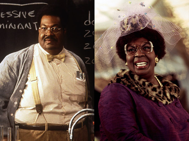The Nutty Professor (Movie - 1996) | Murphy plays both humongously fat professor Sherman Klump and the prof's trim-tiger alter ego, Buddy Love, at full throttle (as Jerry Lewis did before him).…