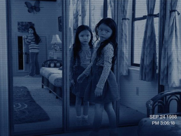 Eighteen years before the first Paranormal Activity , sisters Kristi and Katie are little girls living with their single mom and her photographer boyfriend —…