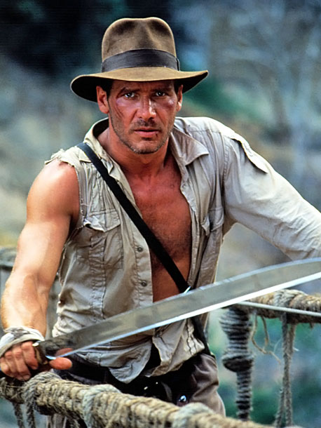 Harrison Ford, Indiana Jones, ... | Yes, Temple of Doom was released three years after Raiders of the Lost Ark , but this Indiana Jones adventure is specifically set in 1935,…