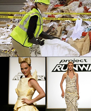 Project Runway | We all know the show is about making it work, but...rooting around in the trash? Season 3 fan favorite Michael Knight found a way with…