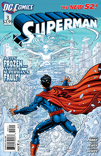 Superman 3 Cover