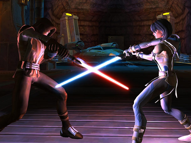 Like World of Warcraft for the lightsaber-wielding crowd, this massively multiplayer online role-playing game encourages Star Wars fans to carve their own path through the…