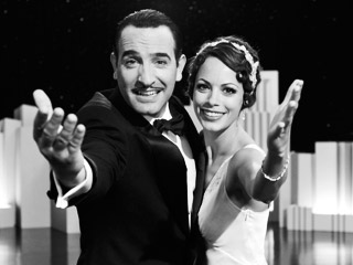 FRENCH TOAST Jean Dujardin and Bérénice Bejo in The Artist