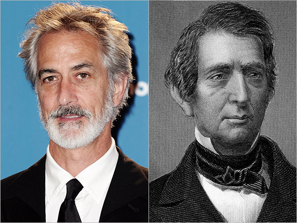 David Strathairn as William Seward of New York, a former Republican rival who became Lincoln's trusted Secretary of State