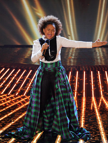 The X Factor | I think this 13-year-old angel from heaven (according to Paula) is wildly hit or miss, but her boundless energy will serve her well with this…