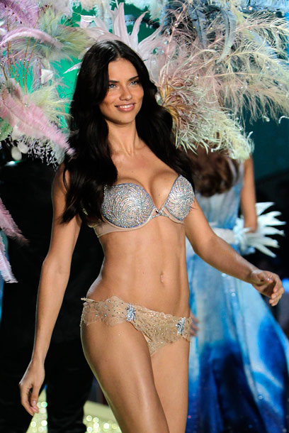 The Victoria's Secret Fashion Show, Adriana Lima | A happy medium...