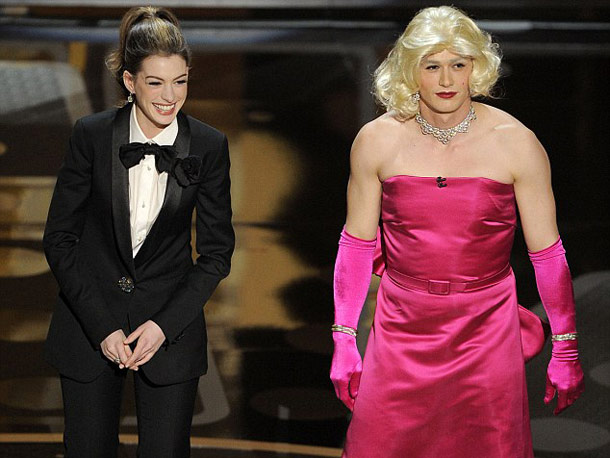 Anne Hathaway, James Franco | Viewers didn't care for Oscar hosts Anne Hathaway (too peppy!) and James Franco (not peppy enough!). But the night still provided plenty of watercooler moments,…