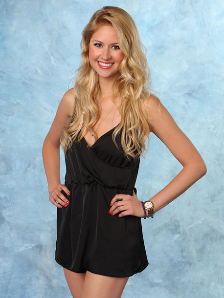 The Bachelor | Age: 26 Occupation: Trading clerk Hometown: Leawood, Kan. Fictional quote: ''I'm bringing rompers back, y'all!''