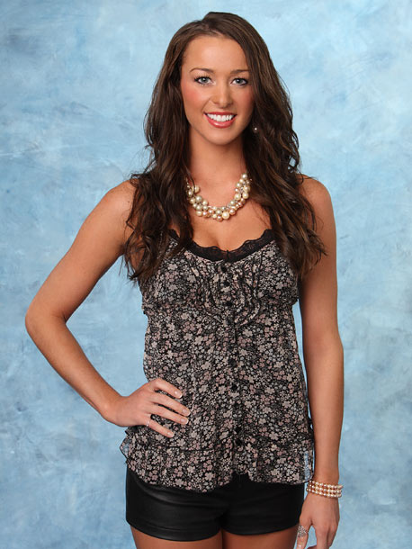 The Bachelor | Age: 25 Occupation: Registered nurse Hometown: Dryden, N.Y. Fictional quote: ''Pearls go with everything.''