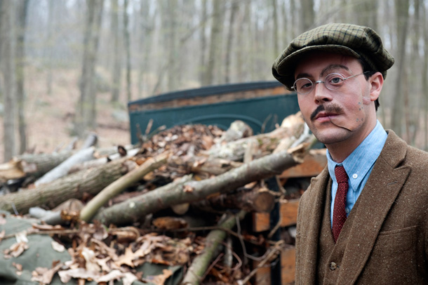 Jack Huston Richard Harrow on Boardwalk Empire