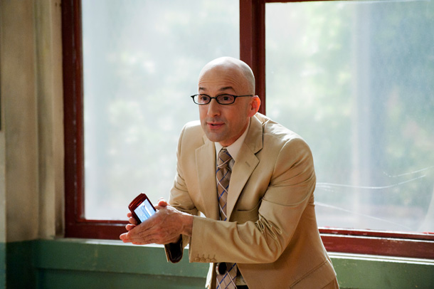 Why we love him: Most academic administrators are there to help their students, but Dean Pelton is one big bald-headed cry for help. His entrances…