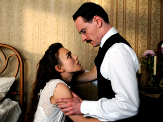 'DANGEROUS' LIAISONS Keira Knightley and Michael Fassbender in A Dangerous Method