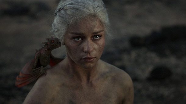 Game of Thrones | The Naked Truth: When we first met Daenarys, she was naked — little more than a piece of meat, being auctioned off by one man…