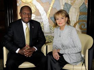 Herman Cain Barbara Walters
