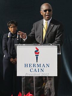 Herman Cain Wife