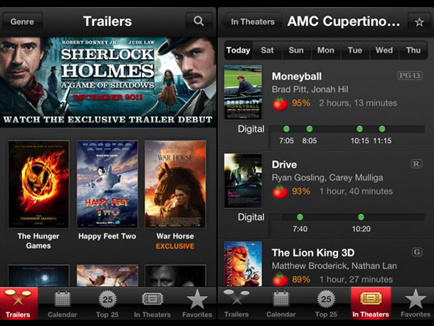 Why it stood out: Plenty of apps stream film teasers, but iTunes Movie Trailers trumps the competition with an intuitive interface, streamlined presentation, and interactive…