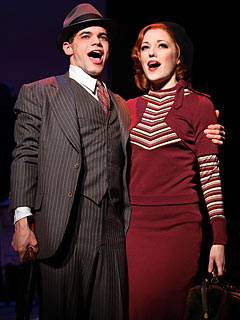 BONNIE & CLYDE Jeremy Jordan and Laura Osnes