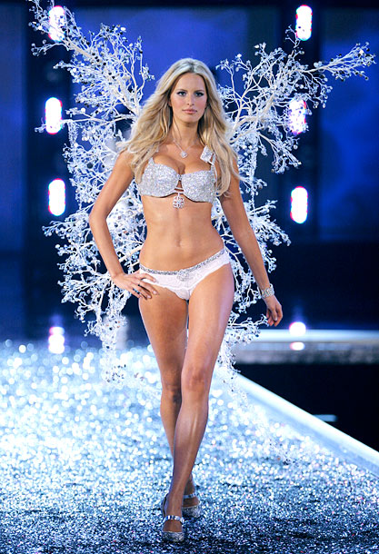 The Victoria's Secret Fashion Show, Karolina Kurkova | Only $6.5 million? We're not impressed.