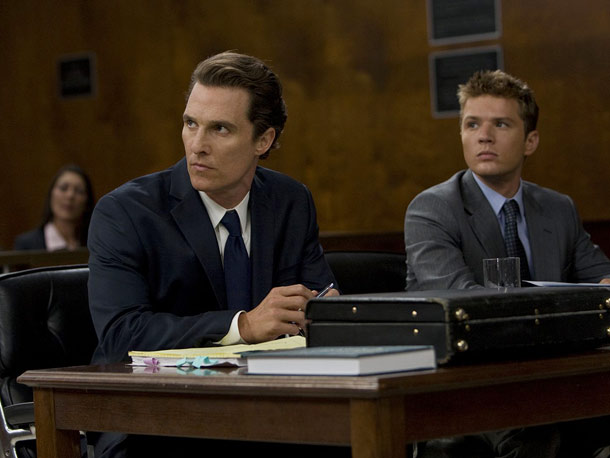 Ryan Phillippe, Matthew McConaughey, ... | I knew Matthew McConaughey was going to be great as the cynical, always-one-step-ahead lawyer Mickey Haller; the surprise was the clarity and suspense of John…