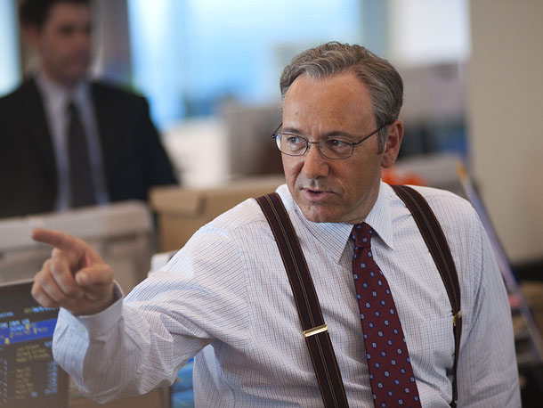 Kevin Spacey, Margin Call | Here's the movie The Ides of March could have been. First-time director J.C. Chandor creates a tight and claustrophobic high-rise hell where high-flying business execs…