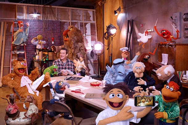 Jason Segel, Muppets | Actor-writer Jason Segel revived Jim Henson's beloved creations in The Muppets , bringing the joys of karate-chopping pigs and joke-telling bears to a whole new…