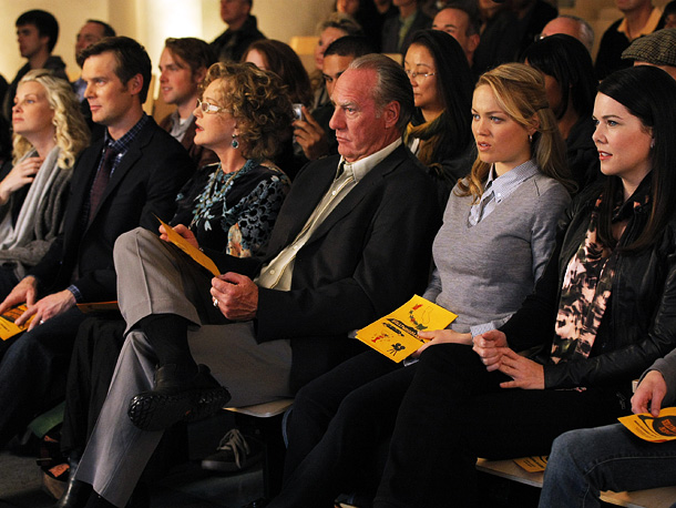 Peter Krause, Bonnie Bedelia, ... | I resolve to cry at LESS than 50 percent of Parenthood episodes. — Dave Karger