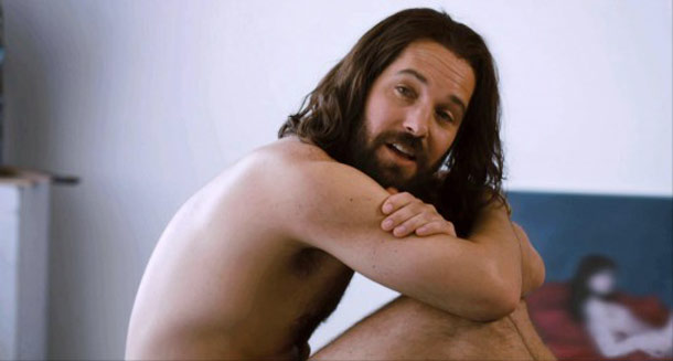 Paul Rudd, Our Idiot Brother | The Naked Truth: Not sure if it's because he's playing such a lovable idiot or because he's Paul Rudd, but just seeing his long-haired self…