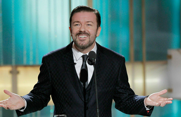 In his opening remarks at the Golden Globes, host Ricky Gervais crossed the line between friendly teasing and full-on mockery — much to viewers' delight.…