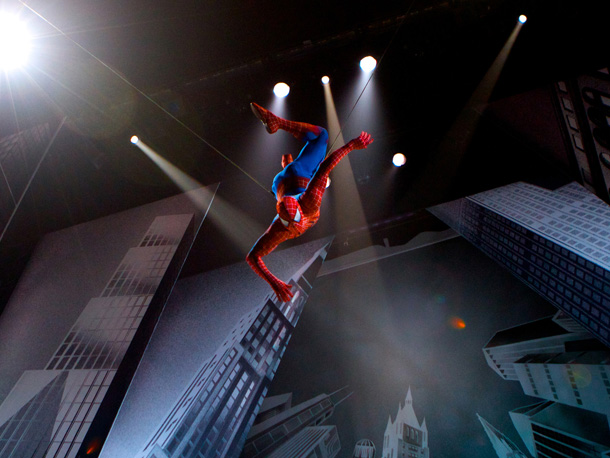 After serious injuries, numerous delays, and a record 183 preview performances, the musical Spider-Man: Turn Off the Dark finally opened on Broadway.