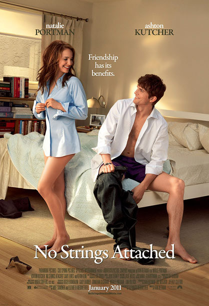 The Pitch: It's a quirkier, sexier romantic comedy! Also, Natalie Portman's legs. The Actual Message: These two impossibly attractive people could not be more satisfied…