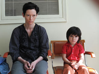 Tilda Swinton, We Need to Talk About Kevin | BOY TALK Tilda Swinton and Jasper Newell in We Need to Talk About Kevin