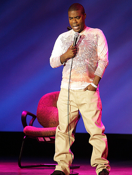 Tracy Morgan | Tracy Morgan's off-the-wall antics became his calling card throughout 10 years on Saturday Night Live . During a June 2011 performance in Nashville Morgan clearly…