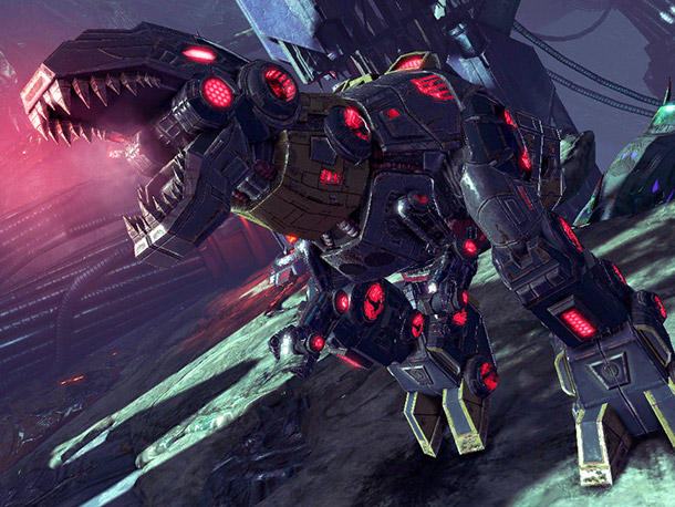 Why We're Excited: The eye-popping VGA trailer for Fall of Cybertron demonstrated the game's fascinating visual aesthetic: an intriguing blend of retro-chic cartoonishness and bleak…