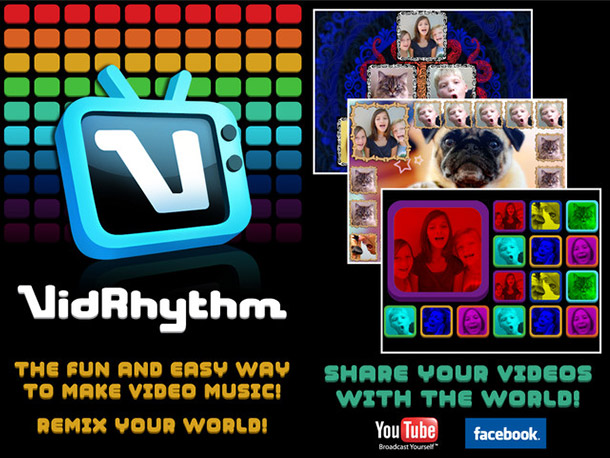 Why it stood out: A must-have app for budding Justin Biebers and Kanye West-wannabes alike, VidRhythm mashes funky fresh beats and mini performances by family…