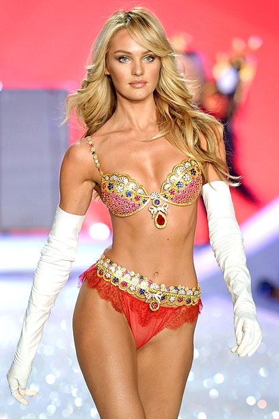 The Victoria's Secret Fashion Show | A sign the economy is getting better: It's the most expensive bra since 2005!