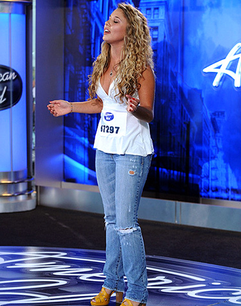 American Idol | Reinhart was flat out rejected by Randy, Simon, and guest judge Shania Twain when she auditioned for season 9 in Chicago. (Only 13 contestants advanced…