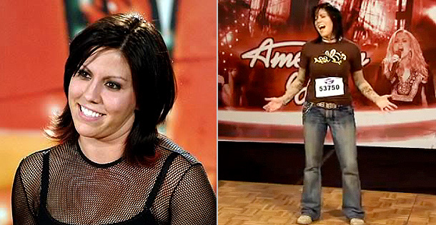 American Idol | Gina Glocksen was the spunky dental hygienist with a big big crush on Simon Cowell when she auditioned in season 5. Dressed in rocker duds,…