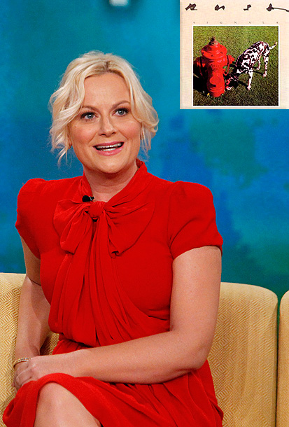 Amy Poehler | ''I grew up with classic rock: Blue Öyster Cult, Boston, Led Zeppelin. That was cool music. With Signals , I must have been 10 or…